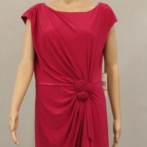 NWT Jones New York Pink Sheath Dress